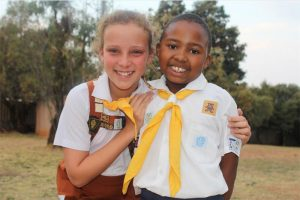 Doing their best and gaining awards – Golden Hand and Honey Pot girls!